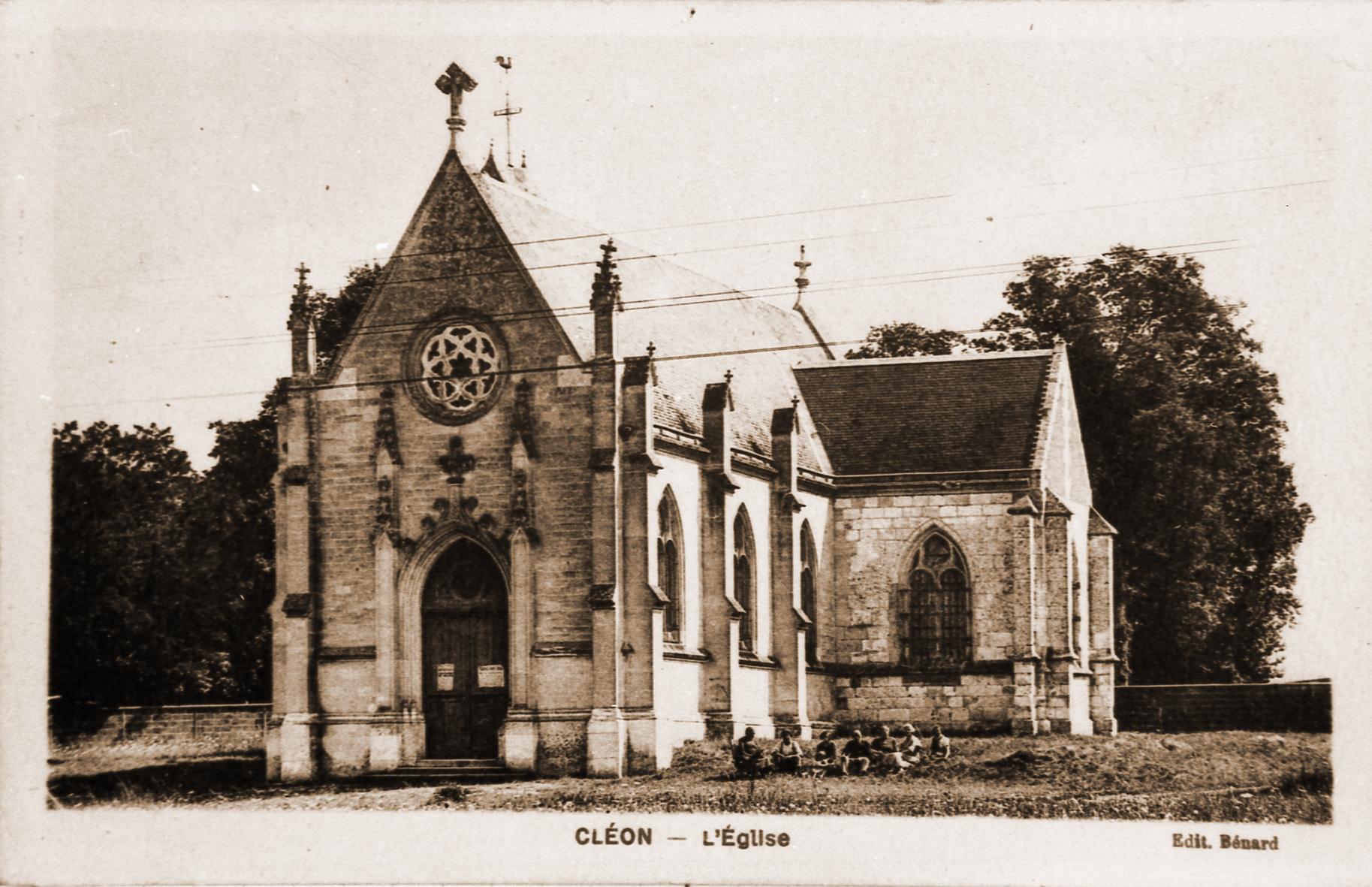 Eglise Saint Martin Cléon