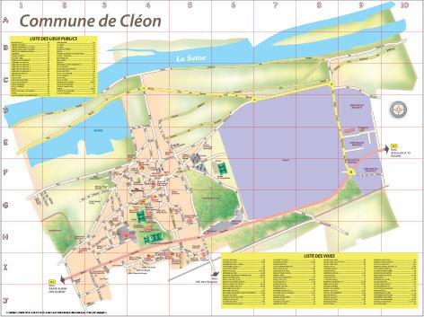 Plan-ville-de-Cléon