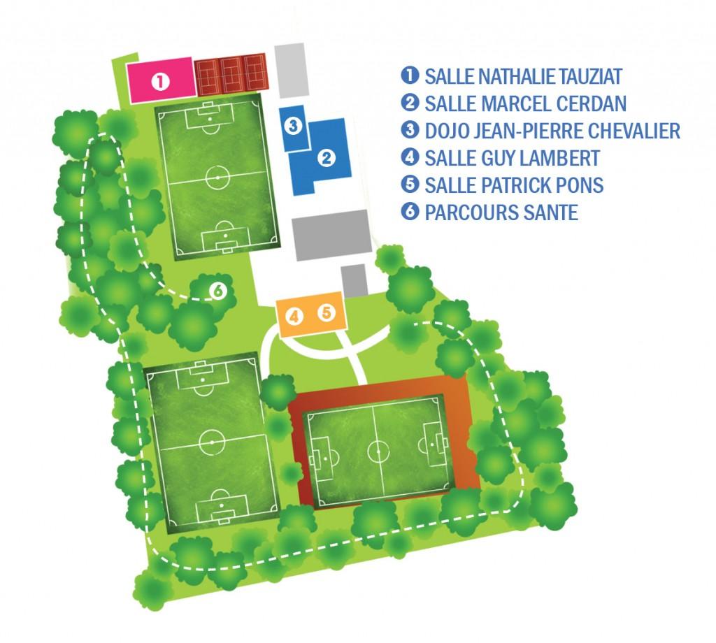 Plan complexe sportif Ostermeyer